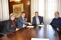 L'Ajuntament i l'Agrupació Cultural del Bages renoven el conveni de col·laboració per a la celebració d'actes tradicionals i festius