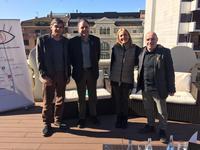 """Quim Masferrer i NatxoTarrés clouran al Kursaal el projecte """"Manresa des d'una altra mirada"""""""
