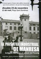 Nou itinerari guiat a Manresa per posar en valor el patrimoni industrial de la ciutat