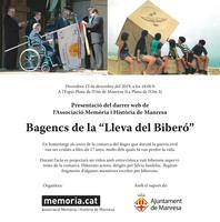 Presentació de la web de memoria.cat en homenatge als bagencs de la 'Lleva del Biberó'