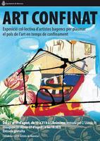 Demà s'inaugura a l'Anònima l'exposició 'Art Confinat', amb obres d'una vuitantena d'artistes bagencs