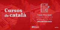 S'obre un nou període d'inscripció per als cursos de català per a adults