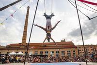 """La 3a edició del Festivalet de Circ de Manresa arrenca aquest divendres al Kursaal amb l'espectacle """"Suspensión"""", de la companyia Nueveuno"""