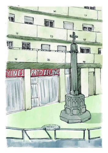 El Centre Cultural el Casino reflexiona sobre la diversitat de Manresa amb una exposició amb 200 dibuixos