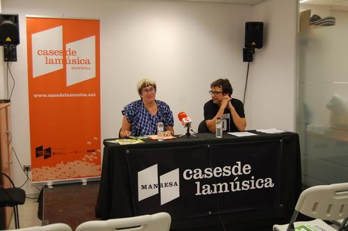 La Casa de la Música de Manresa amplia el Centre de Creació Musical i acollirà aquesta tardor més d'una vintena d'activitats