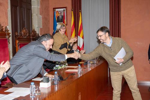 El jurat del Premi Pare Ignasi Puig i Simón avala el treball de Josep Galobart i Soler que va guanyar la convocatòria de l'any 2018