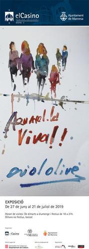 Demostració d'aquarel·la en viu, a càrrec d'Oriol Olivé, demà al Casino