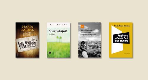 El XXè Premi Joaquim Amat-Piniella selecciona les quatre obres finalistes