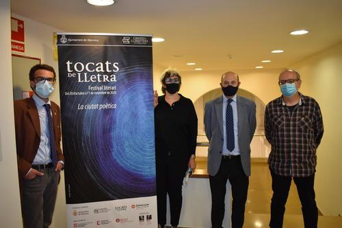"""El Tocats de Lletra 2020 aposta per """"la ciutat poètica"""" i combinarà actes presencials i virtuals"""