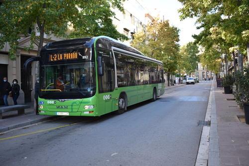 L'Ajuntament de Manresa rep una subvenció de més de mig milió d'euros per compensar la reducció d'ingressos del transport públic