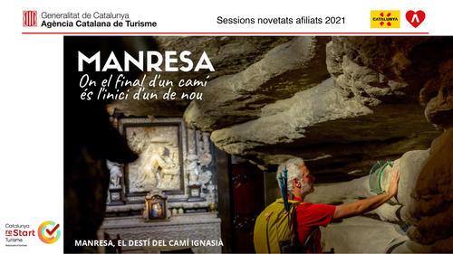 Manresa Turisme presenta l'oferta vinculada al Camí Ignasià als Centres de Promoció Turística de Catalunya internacionals de l'Agència Catalana de Turisme