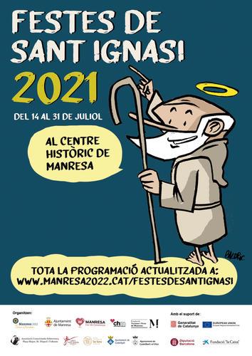 Les Festes de Sant Ignasi 2021 se celebraran del 14 al 31 de juliol